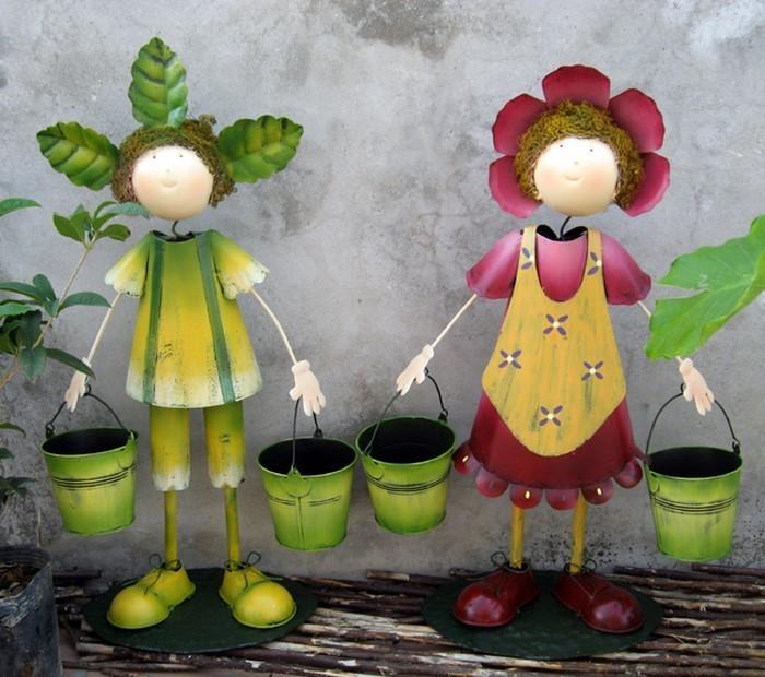 Lustige Gartenfiguren Lassen Sie Die Erstaunlich Aussehen