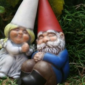 47 lustige Gartenfiguren: Lassen Sie die erstaunlich aussehen