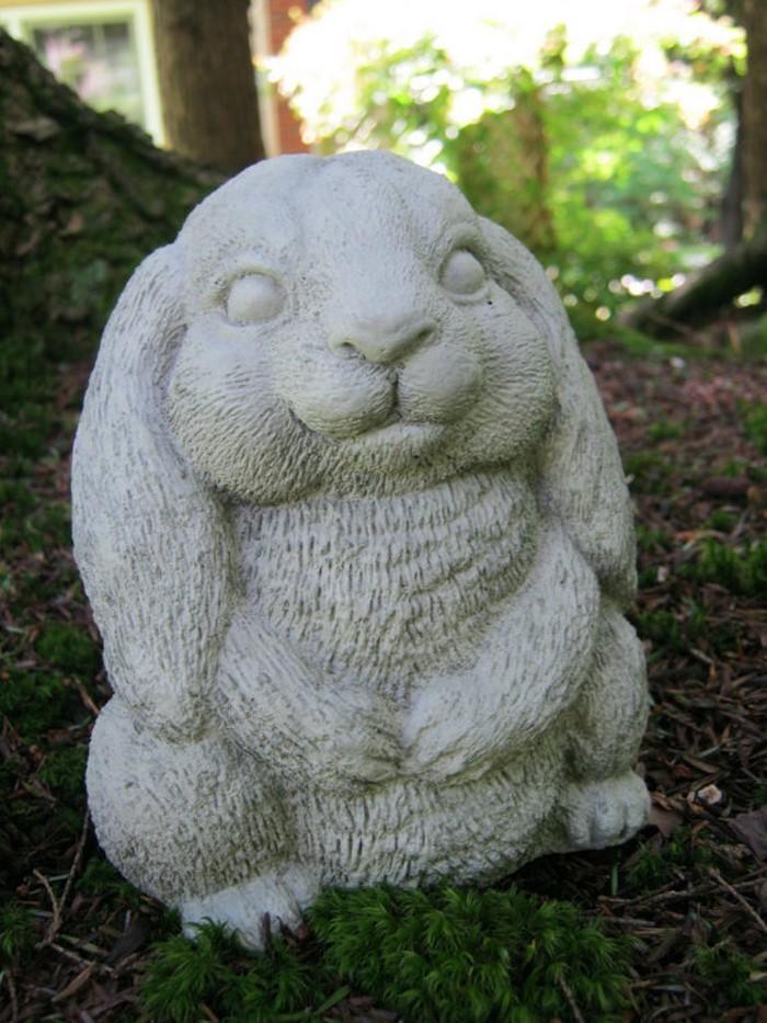 Lustige-Gartenfiguren-Ein-wunderschönes- Exterieur