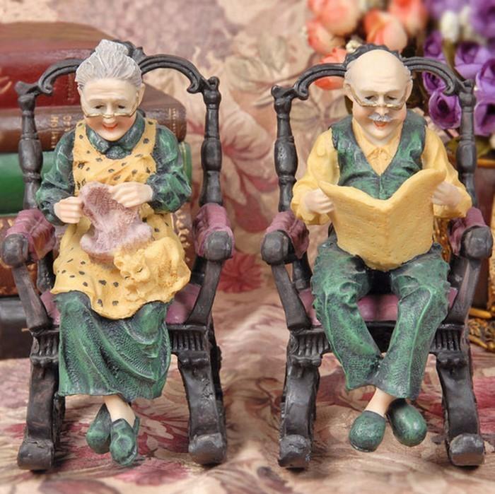 Lustige-Gartenfiguren-Eine-auffällige-Ausstattung