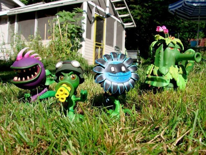 Lustige-Gartenfiguren-Eine-kreative-Ausstrahlung