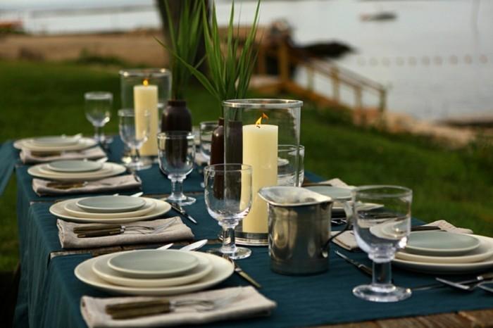 40 mediterrane tischdeko ideen exotische reiseziele zu hause. Black Bedroom Furniture Sets. Home Design Ideas