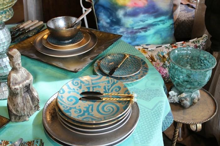 Mediterrane-Dekoration-für-den-Tisch