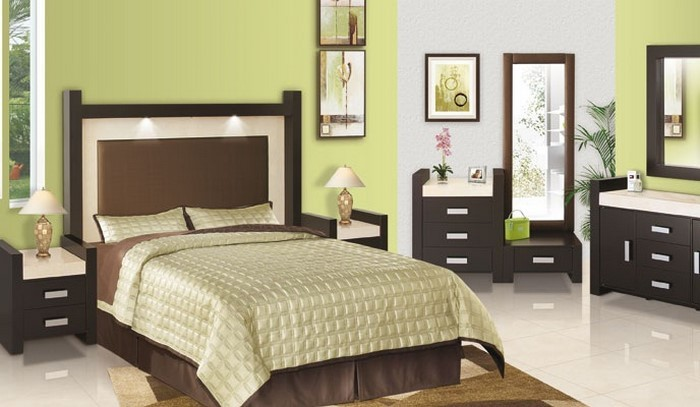 104 schlafzimmer farben ideen und farbinterpretationen. Black Bedroom Furniture Sets. Home Design Ideas