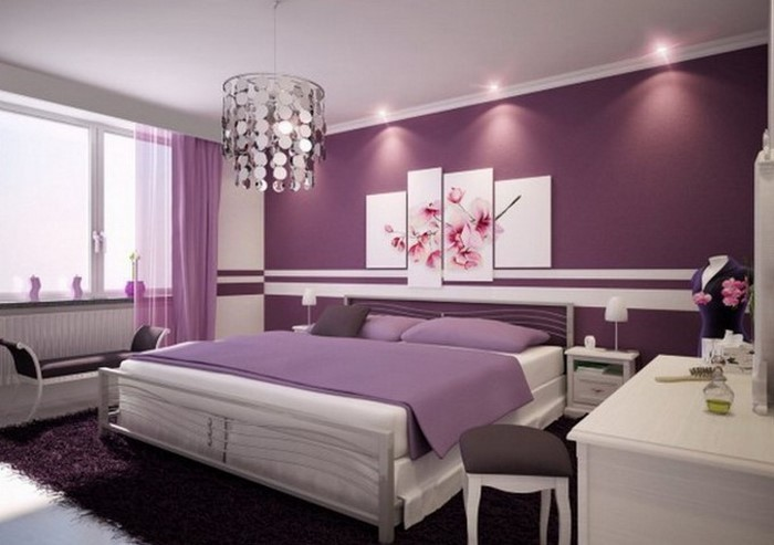 Fantastisch 104 Schlafzimmer Farben Ideen Und Farbinterpretationen ...