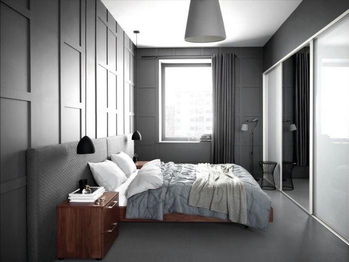 Schlafzimmer Farben Grau : Schlafzimmer Farben: Grau