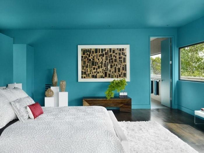 Schlafzimmer-Farben-Eine-coole-Ausstattung
