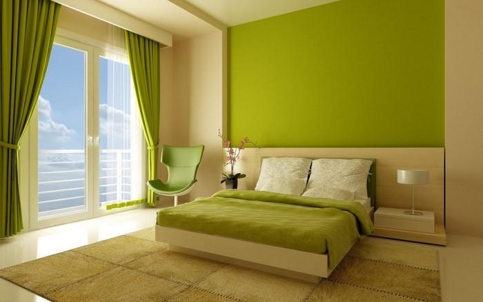 Schlafzimmer-Farben-Eine-kreative-Dekoration