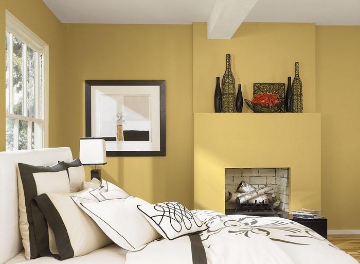 Schlafzimmer-Farben-Eine-verblüffende-Deko