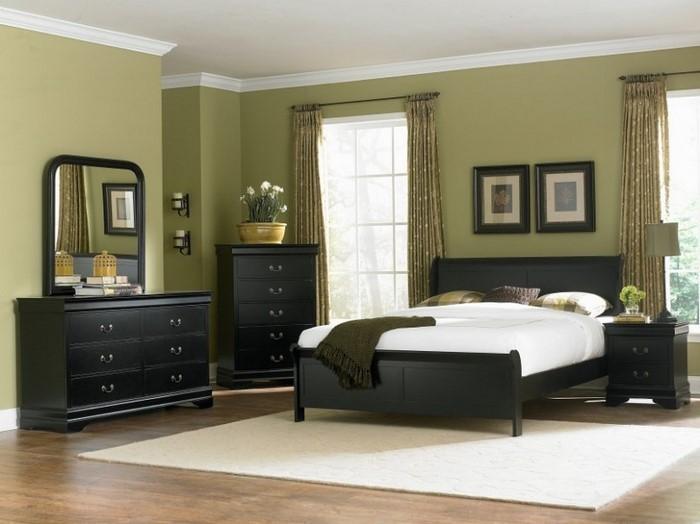Schlafzimmer-Farben-moderne-Entscheidung