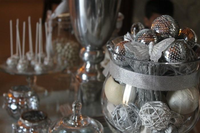 25 Wedding Anniversary Celebration Ideas: Silberhochzeit Tischdeko