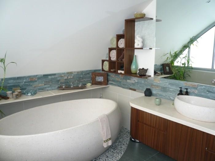 Sommer-Deko-in-dem-Badezimmer