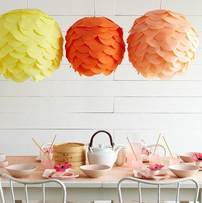 Sommerdeko-basteln-Rosen-aus-Papier