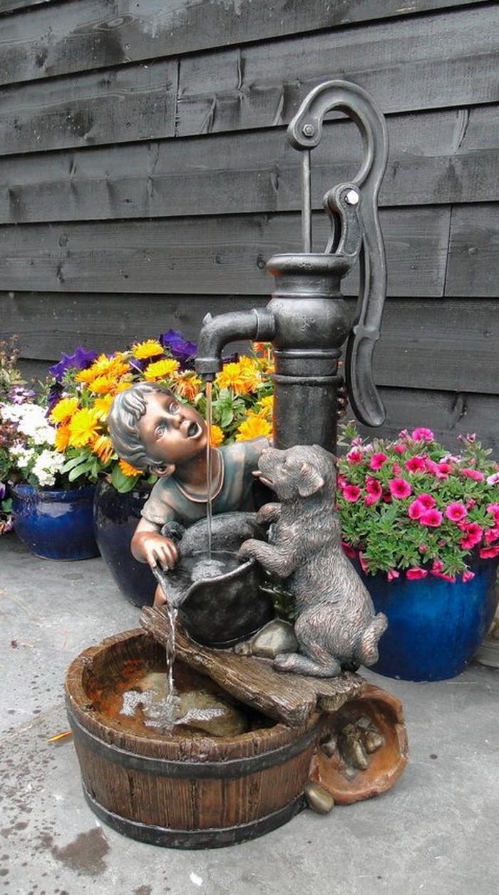 Springbrunnen-im-Garten-Eine-kreative-Gestaltung