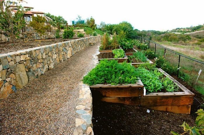 terrasse bauen: gardenterrasse im hinterhof – 70 ideen,