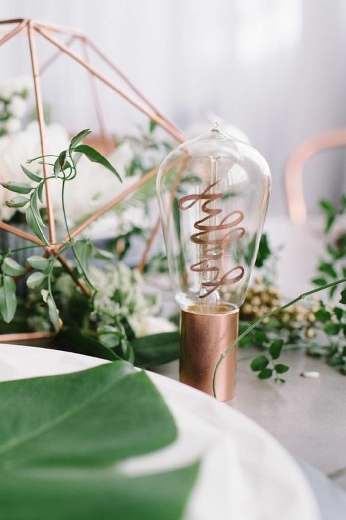 Tischdeko-Beispiele-wie-eine-Glühbirne