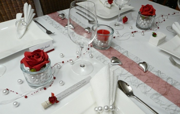 Tischdeko zur silberhochzeit f r eine unvergessliche feier - Tischdeko silber ...