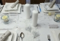 Tischdeko zur Silberhochzeit für eine unvergessliche Feier