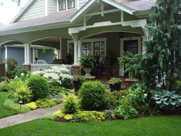 Vorgarten-gestalten-Eine-auffällige-Gestaltung