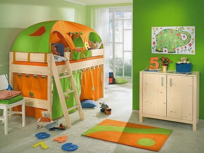 Wand-Streichen-Ideen-fürs-Kinderzimmer-Ein-auffälliges-Design