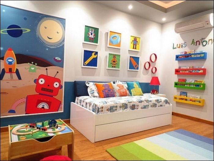 Wand-Streichen-Ideen-fürs-Kinderzimmer-Ein-cooles-Design