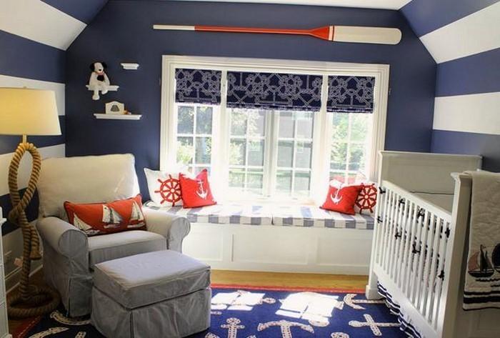 Kinderzimmer Streichen:Eine kreative Dekoration
