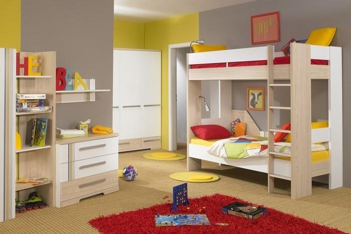 Wand-Streichen-Ideen-fürs-Kinderzimmer-Ein-modernes-Design