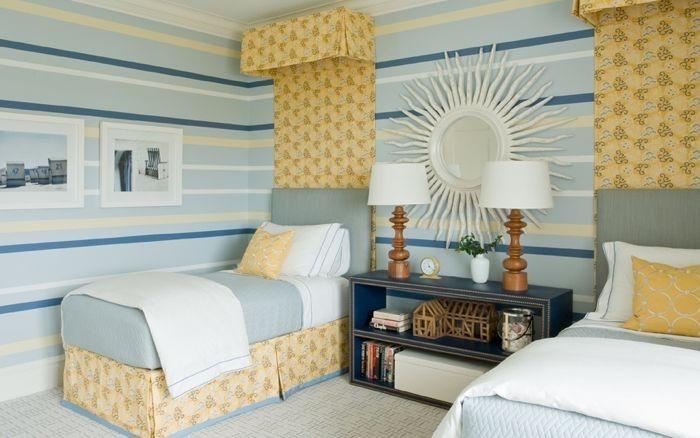 77 wand streichen ideen f rs kinderzimmer. Black Bedroom Furniture Sets. Home Design Ideas