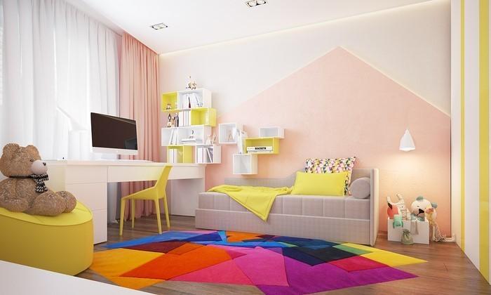 Wand-Streichen-Ideen-fürs-Kinderzimmer-Ein-super-Interieur