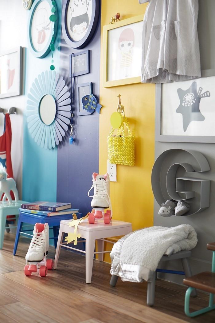 Wand-Streichen-Ideen-fürs-Kinderzimmer-Ein-tolles-Interieur