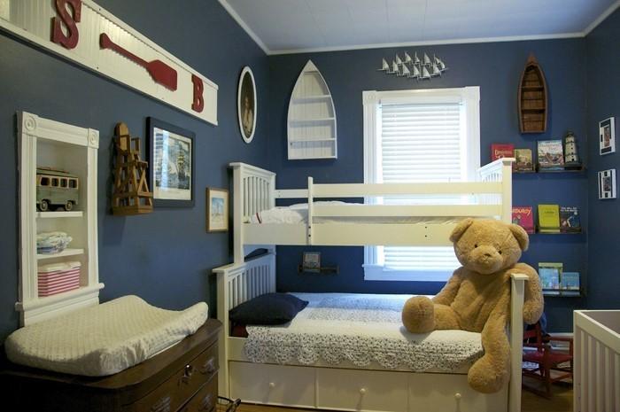 Wand-Streichen-Ideen-fürs-Kinderzimmer-Ein-verblüffendes-Interieur