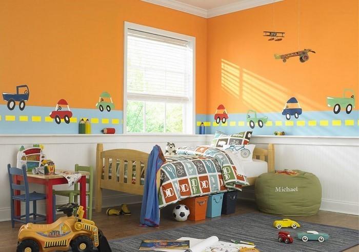 Wand-Streichen-Ideen-fürs-Kinderzimmer-Eine-außergewöhnliche-Ausstrahlung