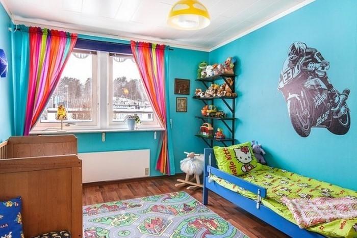 Wand-Streichen-Ideen-fürs-Kinderzimmer-Eine-außergewöhnliche-Deko