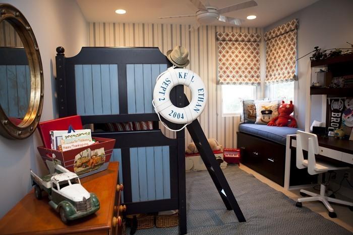 Wand-Streichen-Ideen-fürs-Kinderzimmer-Eine-außergewöhnliche-Gestaltung
