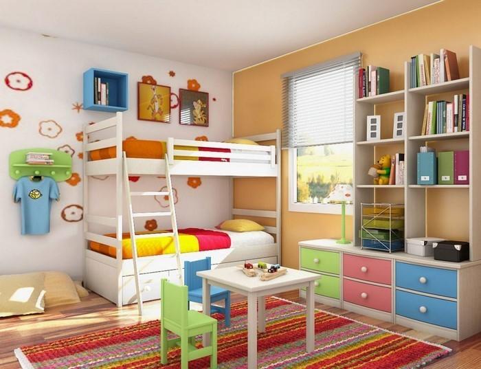 Wand-Streichen-Ideen-fürs-Kinderzimmer-Eine-auffällige-Atmosphäre