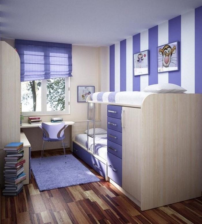 Wand-Streichen-Ideen-fürs-Kinderzimmer-Eine-auffällige-Ausstattung