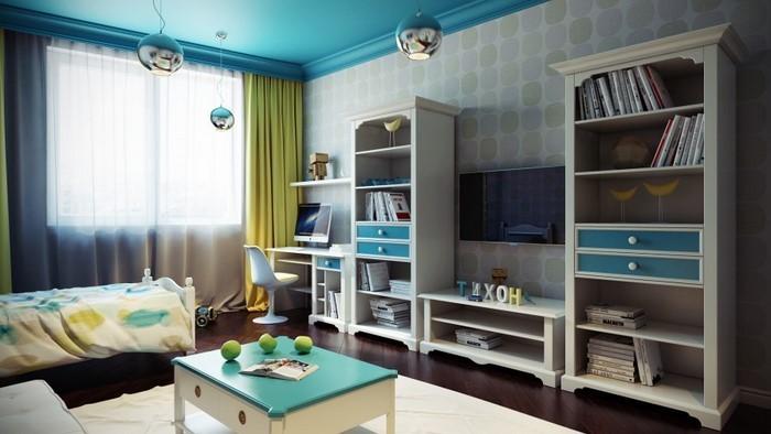 Wand-Streichen-Ideen-fürs-Kinderzimmer-Eine-coole-Ausstattung