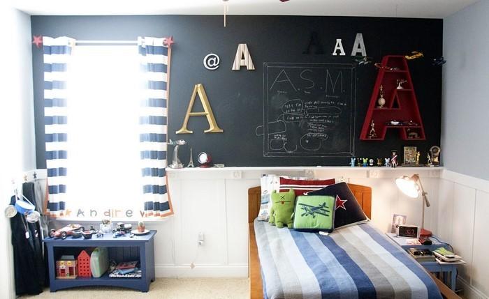 Wand-Streichen-Ideen-fürs-Kinderzimmer-Eine-coole-Ausstrahlung