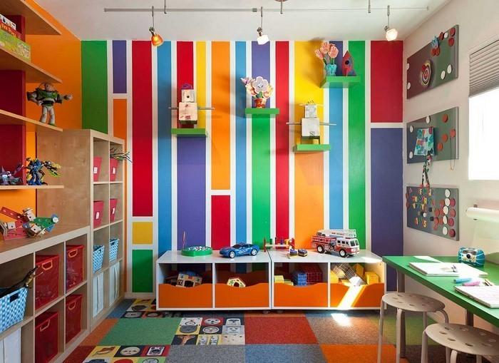 Wand-Streichen-Ideen-fürs-Kinderzimmer-Eine-coole-Dekoration