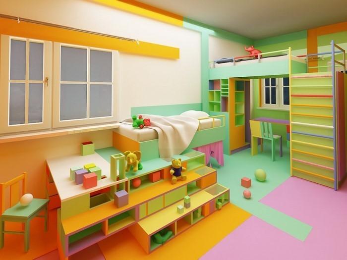 Wand-Streichen-Ideen-fürs-Kinderzimmer-Eine-kreative-Atmosphäre