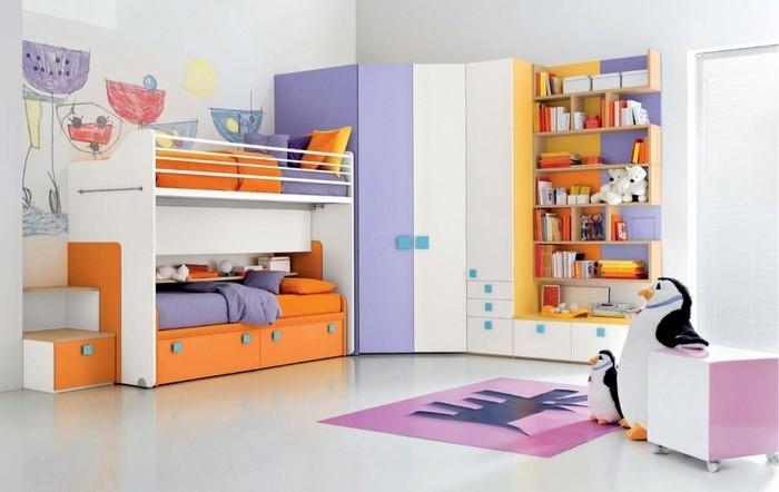 Wand-Streichen-Ideen-fürs-Kinderzimmer-Eine-kreative-Dekoration