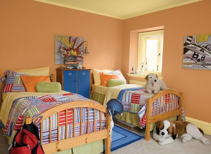 Wand-Streichen-Ideen-fürs-Kinderzimmer-Eine-moderne-Entscheidung