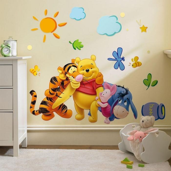 Wand streichen ideen fürs kinderzimmer