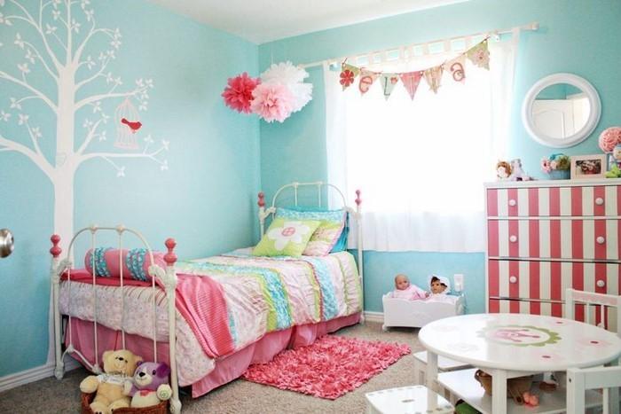 Wand-Streichen-Ideen-fürs-Kinderzimmer-Eine-tolle-Ausstattung