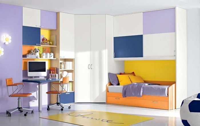 Wand-Streichen-Ideen-fürs-Kinderzimmer-Eine-verblüffende-Deko