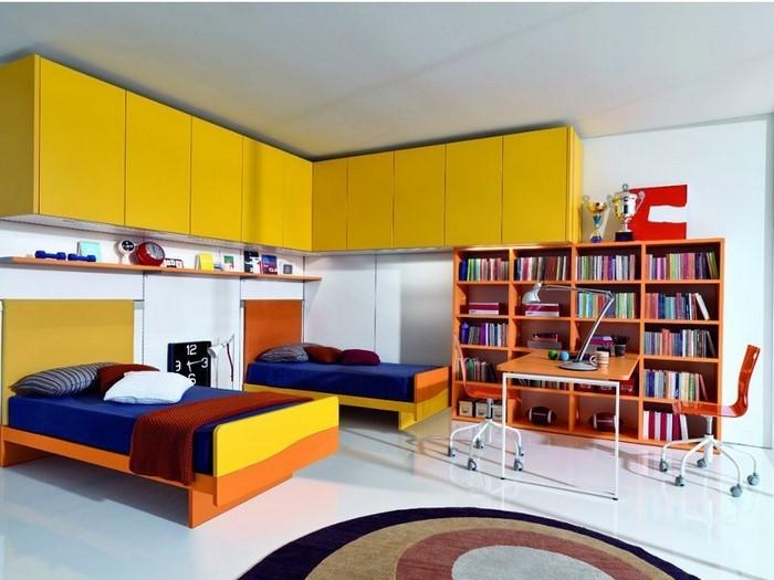 Wand-Streichen-Ideen-fürs-Kinderzimmer-Eine-verblüffende-Dekoration
