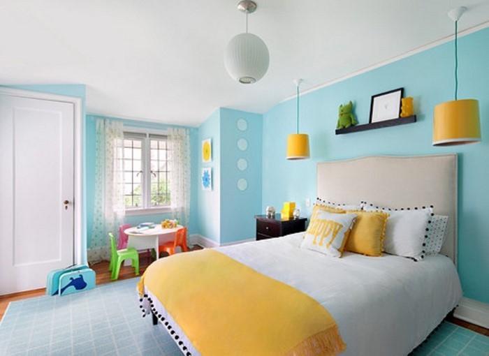 Wand-Streichen-Ideen-fürs-Kinderzimmer-Eine-wunderschöne-Deko