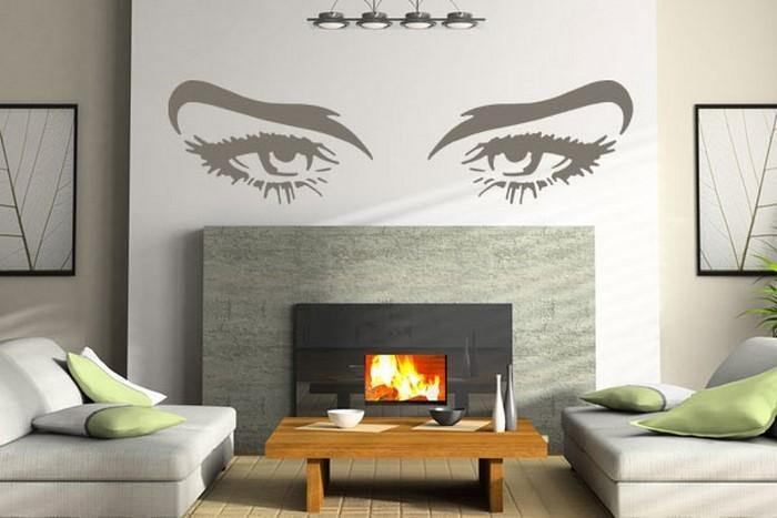 Wandfarben-Ideen-fürs-Wohnzimmer-Ein-außergewöhnliches-Interieur