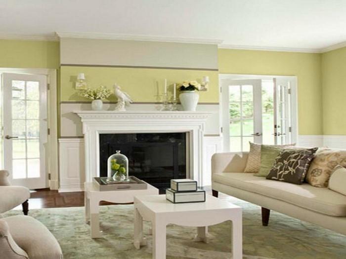 85 moderne Wandfarben Ideen fürs Wohnzimmer 2016