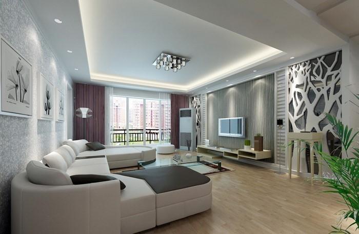 Wandfarben-Ideen-fürs-Wohnzimmer-Ein-cooles-Interieur